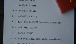 Gino &#8211; Geocaching = Tipps zur Urlaubsplanung 2012/2013